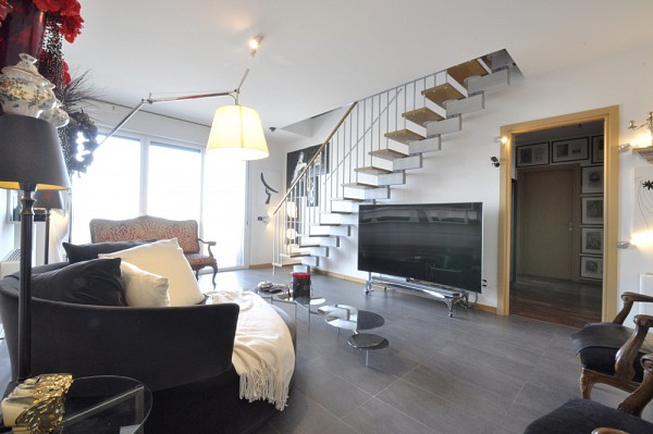 PPC private property consultants: Penthouse Duplex in the Bicocca Area